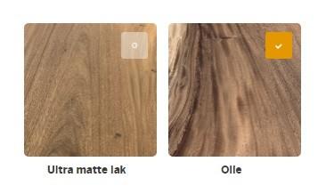 Tafel rond Suarhout - Design