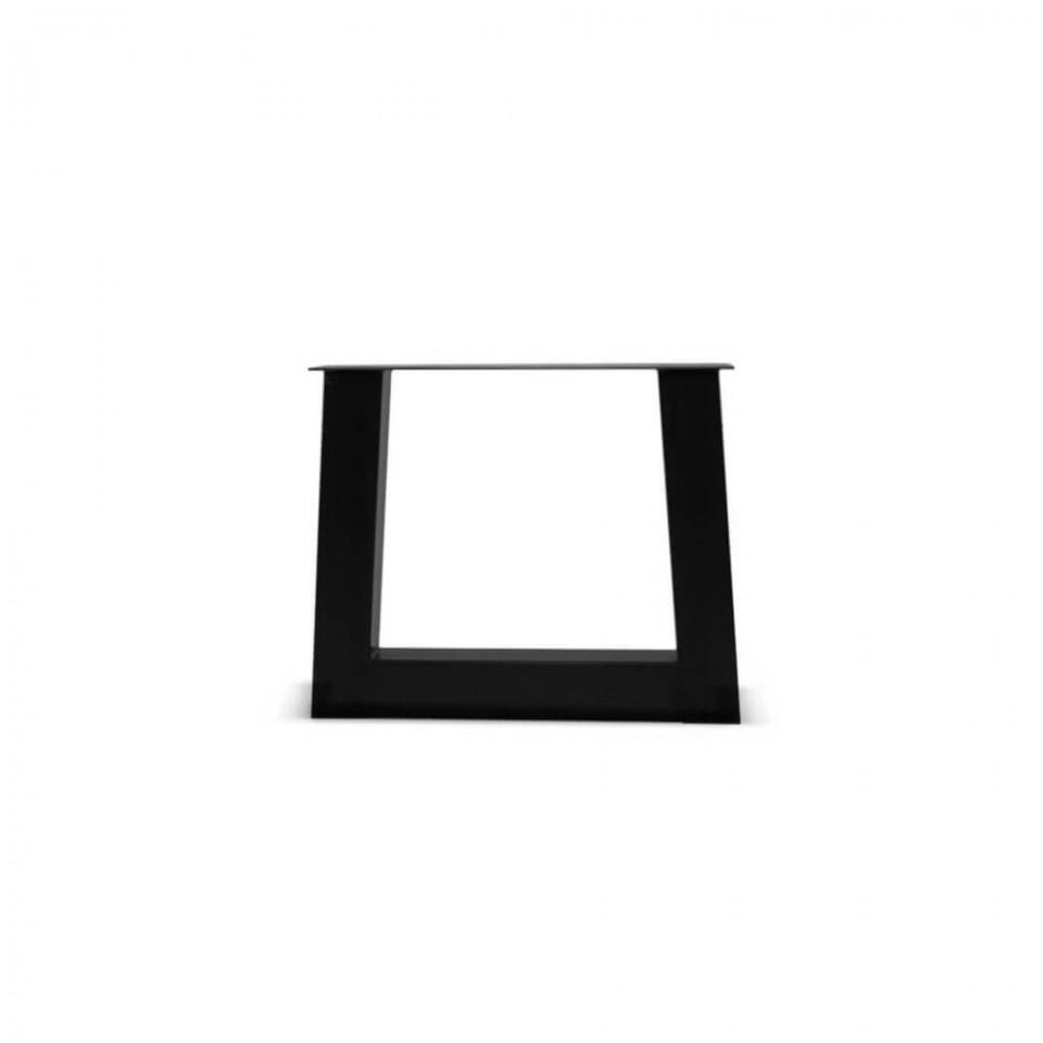 Metalen tafelpoot - Trapezium - 12x12