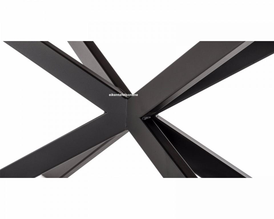 Eiken tafel Ovaal - matrix 8x4