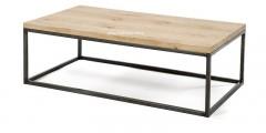 Eiken salontafel Rank zonder onderblad