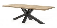 Metalen tafelpoot - Matrix model - 12x12