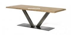 Metalen tafelpoot - V model - 20x10