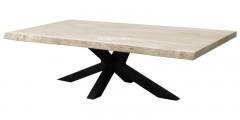 Metalen salontafel poot matrix model 8x8