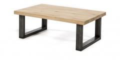 Metalen salontafel poot U model 8x6