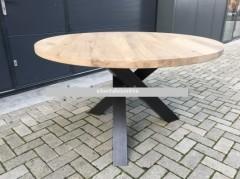 Eiken tafel rond - Suprise